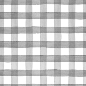 Buffalo Gray Watercolor Plaid