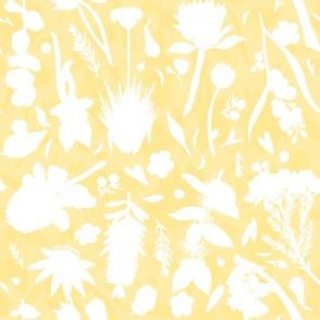 Aussie Floral - Yellow