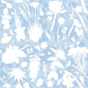 Aussie Floral - Blue