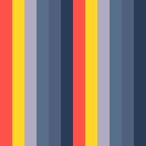 Volcano Chunky Stripe