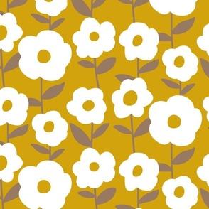 Mustard Peonies
