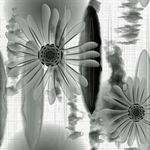 Black and White Painterly Challenge
