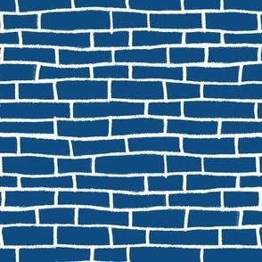 brick road - classic blue