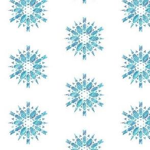 Blue Mandala Star