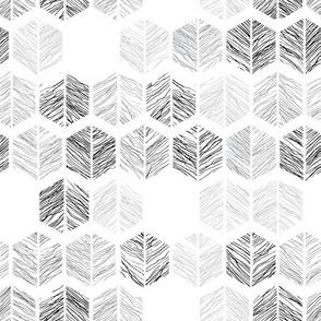 Black and White Sketch Lines by artfulfreddy