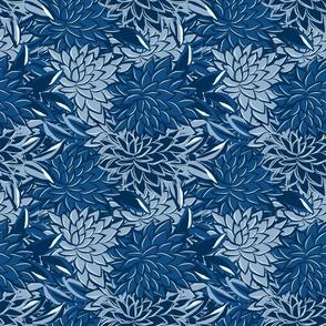 Blossom Effect Dahlia Classic Blue