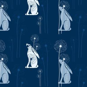 classic blue moongazing