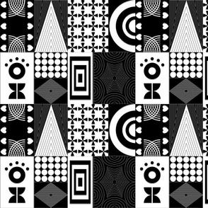Mustermix black & white