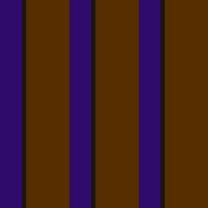 French Earth Midnight Stripe