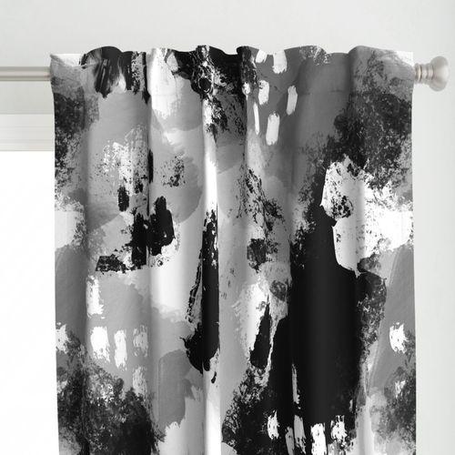 Painterly Grunge in Black