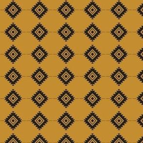 Native Geometric Mustard