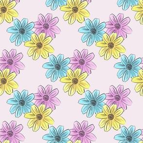Pastel Dreamy Floral