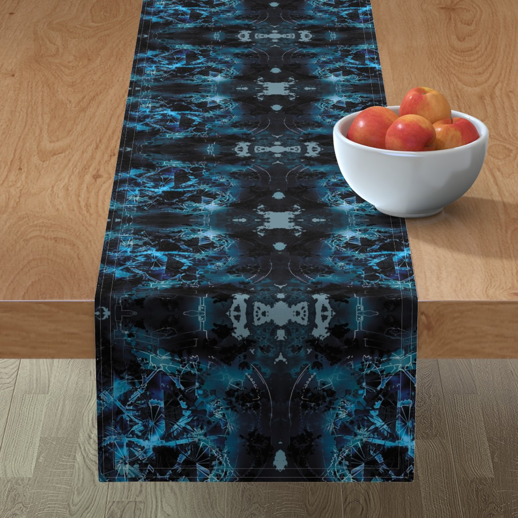 Minorca Table Runner featuring Wheels 4 by animotaxis