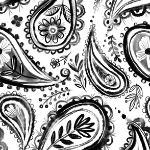painted paisley