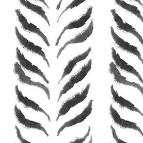 Zebra leaves