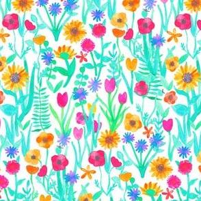 Watercolor Garden of Eden