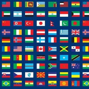 World Flags, Navy