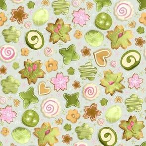 Green Tea Cookies / Tiny