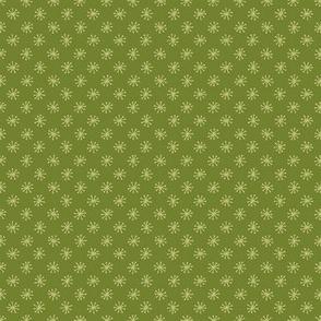Green Polka Stars Coordinate