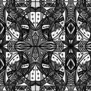 51_Black/White/Gray_7x8_Small_Mirror