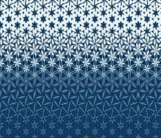 Blue Flower Field Metamorphosis