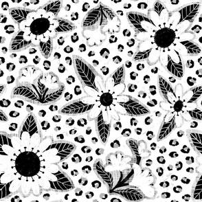 Leopard Print Floral