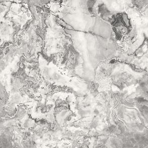 Light Grey Cream Marble