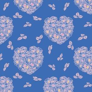 rose  heart shaped bouquets by rysunki_malunki