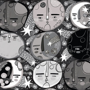 Moon Faces