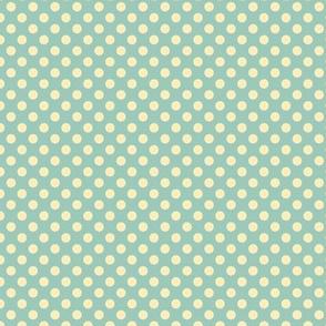 Ditsy Dot Blue