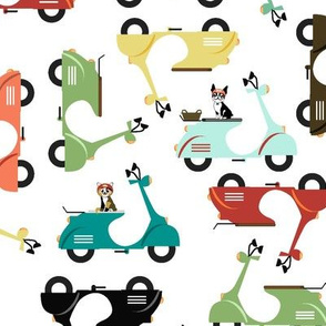 Scooting Around with Animals Medium