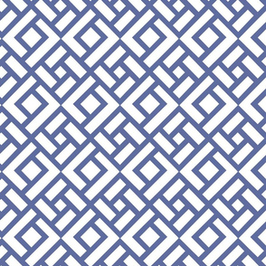 """CHINESE CHIPPENDALE 4"""" cobalt"""