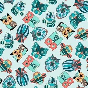 Kitsch Owls