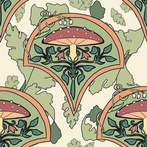 Mushroom Nouveau