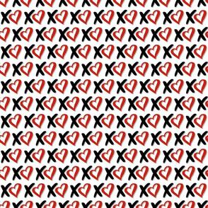 Xoxo Red hearts 2
