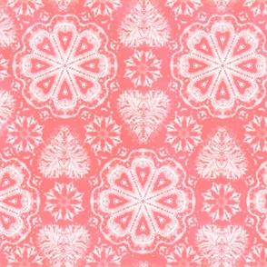 Pink Valentine Day Shibori