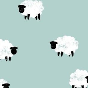 sheep - lamb spring - mint - LAD20