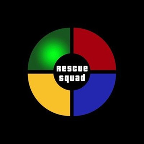 """Rescue Squad Donuts - 8"""" block"""