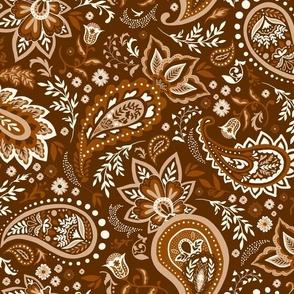 Brown Soma Paisley