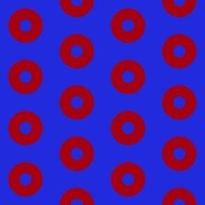 "Bright Fishman Donuts - 2"" block"