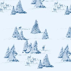 Foggy Forest by DulciArt, LLC