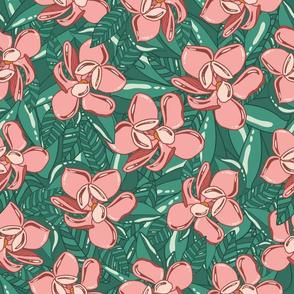 Peachy-Florals