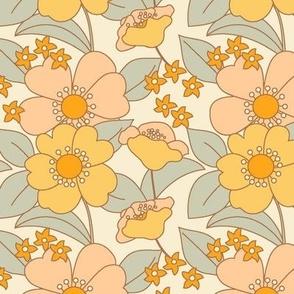 70s Floral Sunshine- Reduced