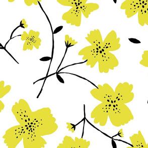 YELLOW FLOWERS 24'