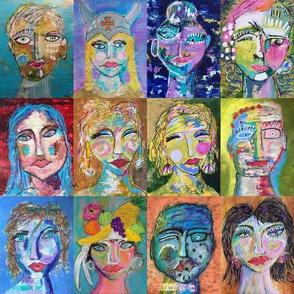 Meet twelve intriguing faces