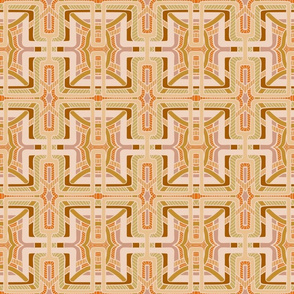 Creamed lattice block