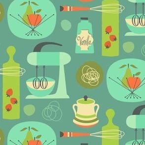 kitchen kitsch blue