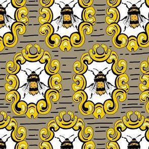 Framed Bees