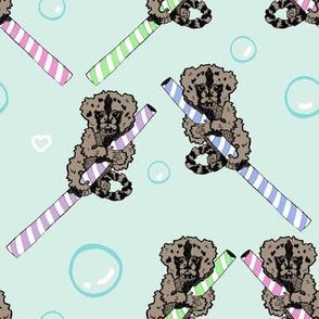 Pastel Straw Monkeys