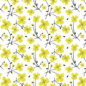 "YELLOW FLOWERS 8"""